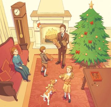 Merry Christmas by Hello-Morphine