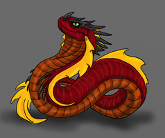 Verden-Greater Wyrm by Scatha-the-Worm