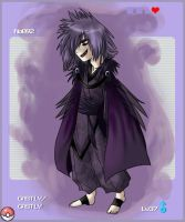 PKMN Gijinka Project: Gastly by Yoshiie
