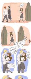 Other Draco-Hermione moment by bonana-chan