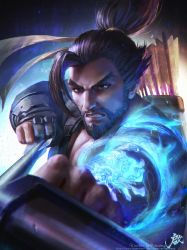 OVERWATCH HANZO by GothicQ