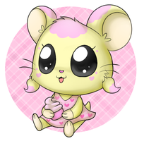 AT: Ammy the Hamster by POOPYINACTIVEACCOUNT