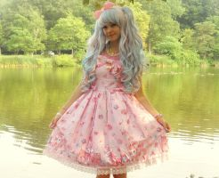 Milky Chan Pink Lolita by EricaMeow