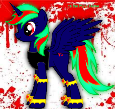 My pony form from the creator ver. 2 by Icethehybrideevee