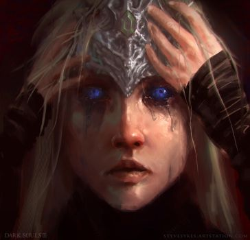 Eyes of a Firekeeper by mirrors519