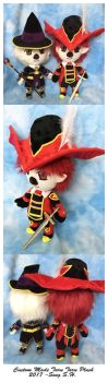 Red mage taru taru plushie by sewcuteplushies