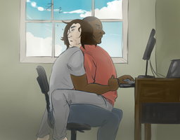 Living With Bucky by LOTOLLE