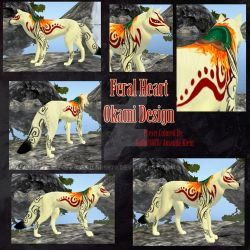 Okami Feral Heart Preset [Soon Posting...] by Sailor9870