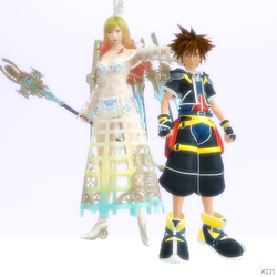 I give you the champion,Sora! by Hatredboy