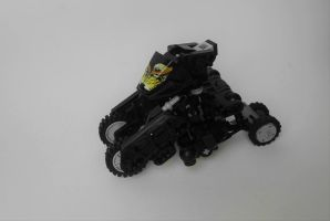 Roborider Night (vehicle mode) by GhostyMcspooky