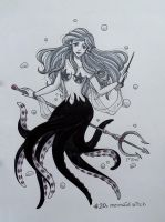 .day20: mermaid witch by mimiclothing