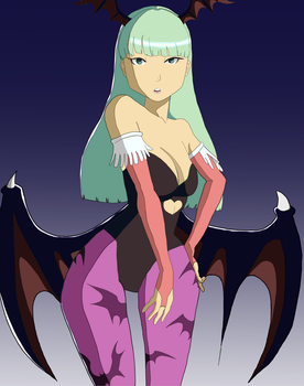 Morrigan by G-Tempest