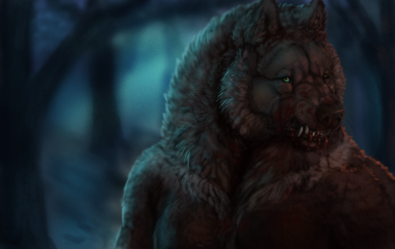 Werewolf interrupted by Umbrafen