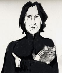 Severus Snape and Qutangle by HPID