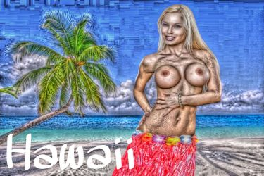 Jenny Poussin Wish were here by Warrior35