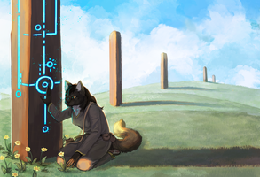 [Commission] Monoliths by Kampfkewob