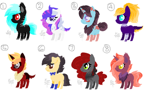 Rare Iti Pony Adopts (5/8 Open) by Blast4rt