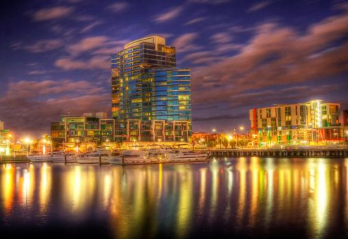 Docklands NewQuay HDR by daniellepowell82
