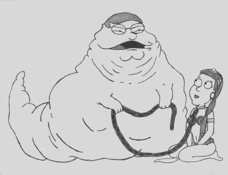 Jabba The Griffin - Family Guy by StaciMarie
