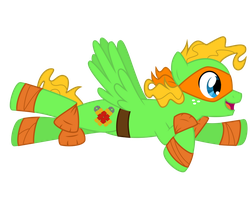 pony!Mikey Flight by Riuke-Z