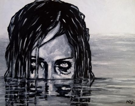 Acrylic on canvas by M--Art
