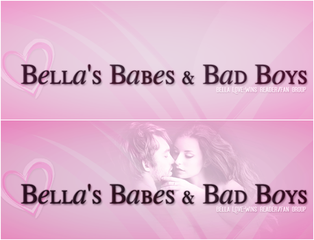 Bella's Babes and Bad Boys Facebook Header Preview by simirae