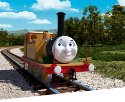 Stepney The BlueBell Engine in CGI by Thatotherdude1
