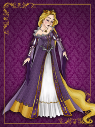 Queen Rapunzel - Disney Queen designer collection by GFantasy92