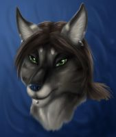 Grion - art trade by Max-Dragon
