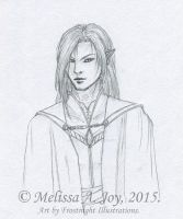Raeon (Concept - Line Art) by AeldynnLore