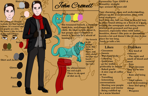 John Crowell - Reference Sheet by MyrielLachance