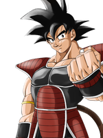 Grinning Fist, Kakarotto by Arrancarippo