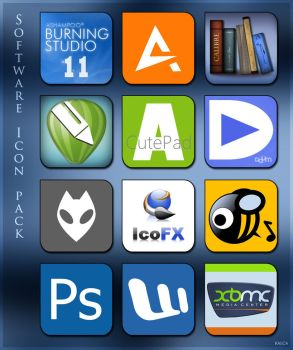 Software Icon Pack 001 by Kalca