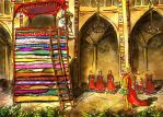princess and the pea by yakkingyetis