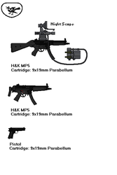 T.H.R.U.S.H. Standard Weapons by DonaldMoore909