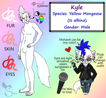 Ref Sheet: Kyle by ShokiDeNai