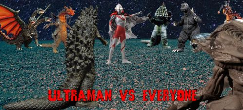 Ultraman Vs Everyone Gif by Nagoda