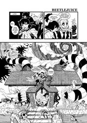 Beetlejuice: No Treats, Only Tricks 3 by BridgeFireComics