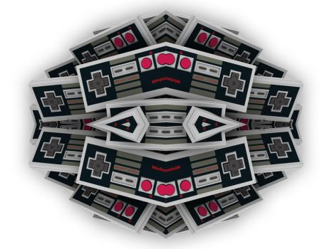 nes controller abstract by phixxx