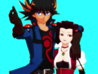 MMD (yugioh 5DS) _ Good Time +DL by animerelax1