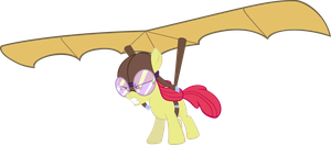 Apple Glider by MoongazePonies