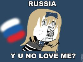APH - Y U NO LOVE ME, RUSSIA? by Sanadachi