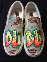 Grafitty Shoes by VICTOR5