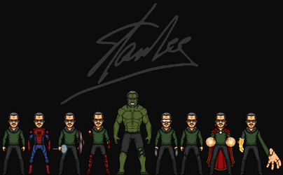 Stan Lee (The MCEU) by KingCozy7