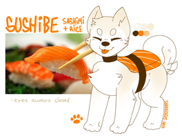 sushibe (ref. sheet) by sharkissus