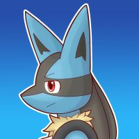 Lucario by Tooncito