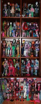 My Doll Collection by pixiesera