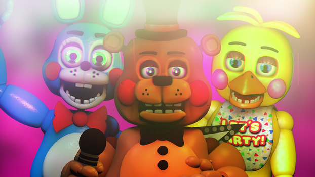 The New Generation | FNAF WALLPAPER by 666TheFoxGamer666
