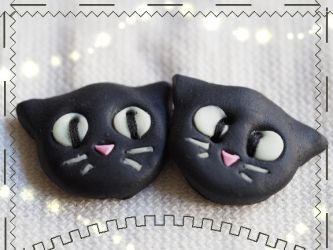 Catbuttons on SALE by Sunlight-Angel