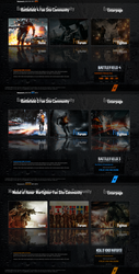 Battlefield 4 / 3 / Medal of Honor Warfi Enterpage by gametreffpunt-blue